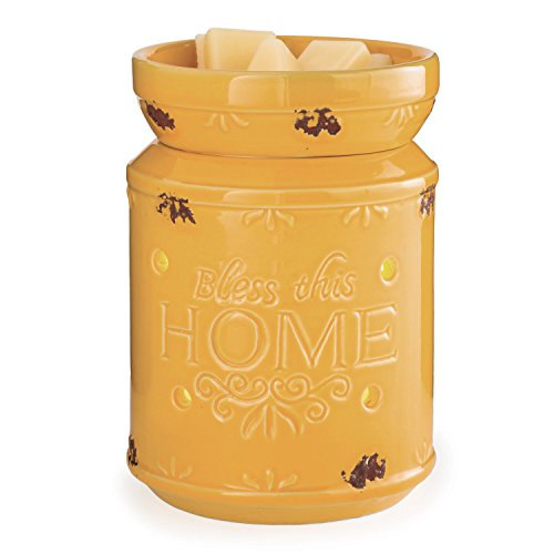 Candle Warmers Etc. Illumination Fragrance Warmer, Bless This Home