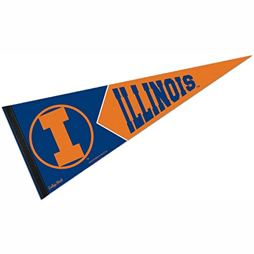 WinCraft Illinois Fighting Illini College Vault and Throwback Pennant