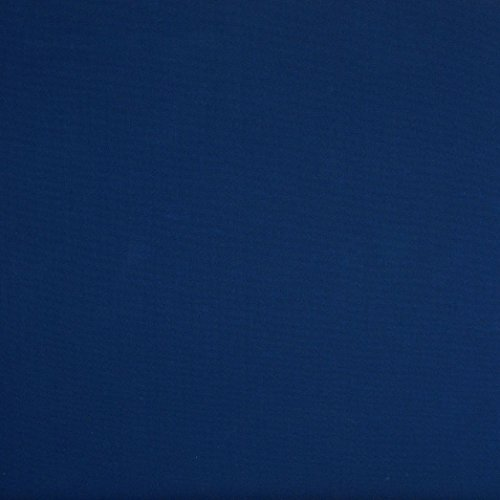 Sunbrella 60in Solid Standard Marine Blue Fabric by The Yard (Blue Pacific Fabric)