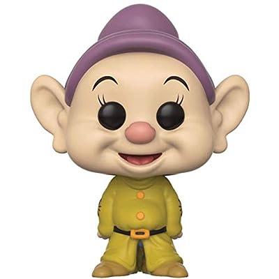 Disney: Snow White and The Seven Dwarfs - Dopey Funko Pop! Vinyl Figure (Includes Compatible Pop Box Protector Case): Toys & Games
