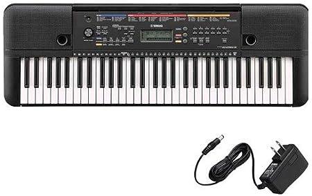 Yamaha PSR-E263 teclado portátil con adaptador de CA PA130 ...