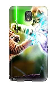 AnnDavidson Case Cover Protector Specially Made For Galaxy Note 3 Jedi Cats!