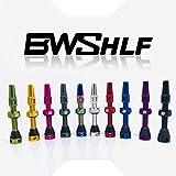 BWSHLF Black Tubeless Presta Valve Stem 40mm