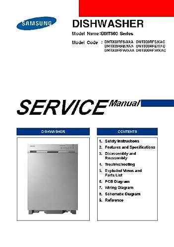 samsung dmt300rfb xaa service manual and samsung dmt300rfw xaa rh amazon com samsung dishwasher manual dmt800 samsung dishwasher dmt300rfw parts