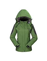 Diamond Candy Hooded Softshell Waterproof Jacket Outdoor Women's raincoat