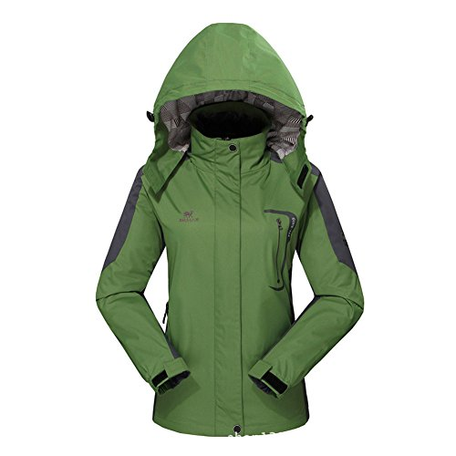 Diamond Candy Hooded Softshell Waterproof Jacket Outdoor Women's raincoat GM