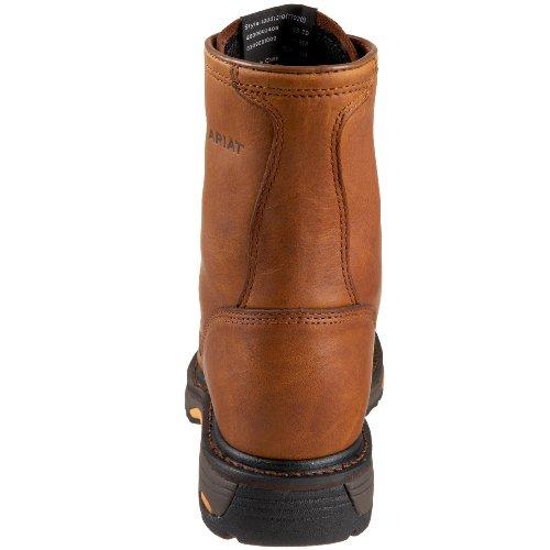 Ariat Menns Workhog 8 Arbeid Boot Golden Grizzly