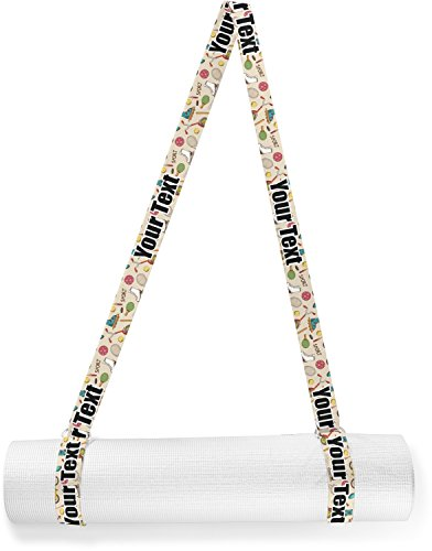 RNK Shops Vintage Sports Yoga Mat Strap (Personalized) by RNK Shops
