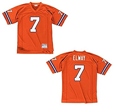 John Elway Denver Broncos Orange Throwback Jersey