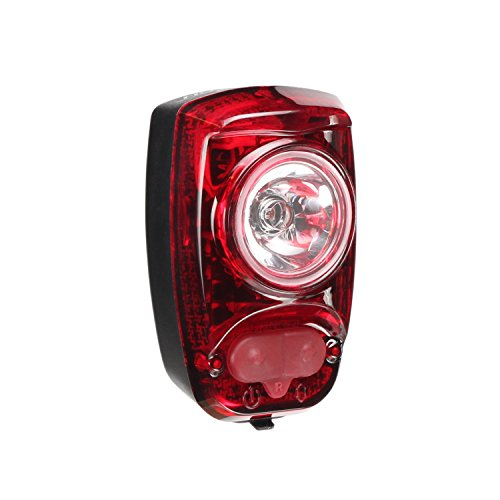 CYGOLITE Hotshot- High Power 2 Watt Bike Taillight- 6 Night & Daytime Modes- User Tuneable Flash Speed- Compact Design- IP64 Water Resistant- Secured Hard Mount- USB Rechargeable- Great for Busy Roads