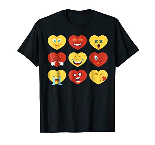 Heart Emoji T-Shirt for Valentines Day - Show Your Love