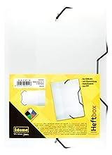 Idena – Cuaderno Caja DIN con goma elástica, color blanco A5