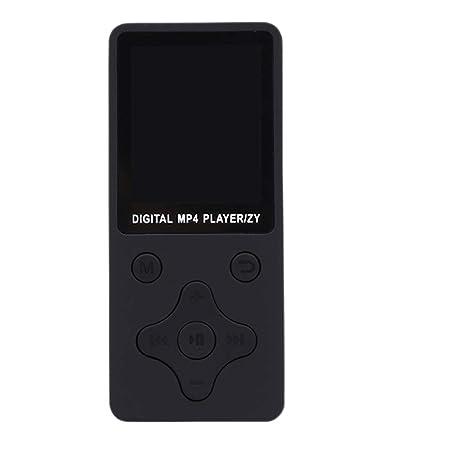 Mhizhi Mini MP3 Reproductor de música móvil Video Ebook FM Radio ...
