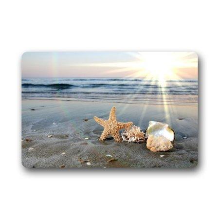 TSlook-Fashions-Doormat-Starfish-Sea-Ocean-Waves-IndoorOutdoorFront-Welcome-Door-Mat236x157L-x-W