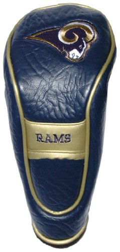 (Team Golf NFL Los Angeles Rams Hybrid Golf Club Headcover, Velcro Closure, Velour lined for Extra Club Protection)