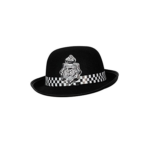 Toyland British Police Hat Ladies Wpc Officer Womens Fancy Dress (Lady Cop Costumes)