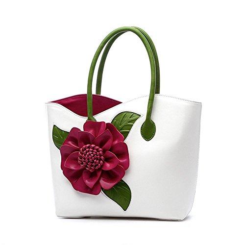 Ssmeng Bag Shoulder Bag Handmade Flower Bag Messenger Bag Women Af