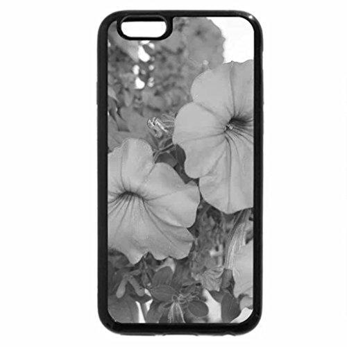 iPhone 6S Plus Case, iPhone 6 Plus Case (Black & White) - Petunia 4