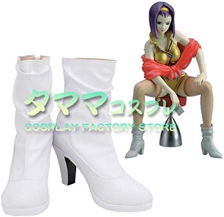フェイ・ヴァレンタイン カウボーイビバップ Faye Valentine Cowboy Bebop コスプレ靴 コスプレブーツ cosplay オーダーサイズ/スタイル 製作可能 【タママ】(23.5cm)
