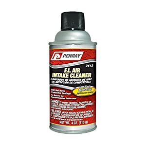 Penray 2412-12PK Fuel Injector Air Intake Cleaner - 4-Ounce Aerosol Can, Case of 12