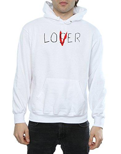 Hombre It Blanco Capucha Lover Loser SZZwHUq