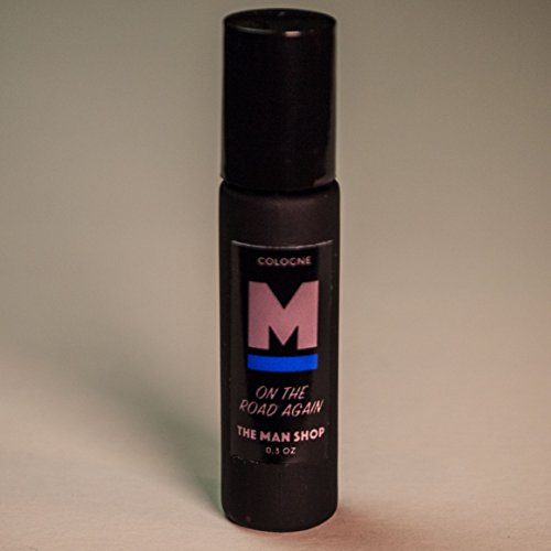 On The Road Again Men's Rollerball Cologne (0.3 oz) The Man Shop by The Man Shop
