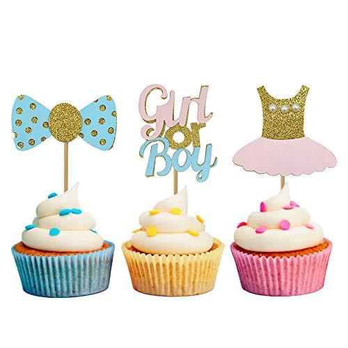 Kitchen, Dining & Bar 24x 25th Anniversaire MÉlange Comestible Cupcake DÉcoration,premium Papier De Home & Garden