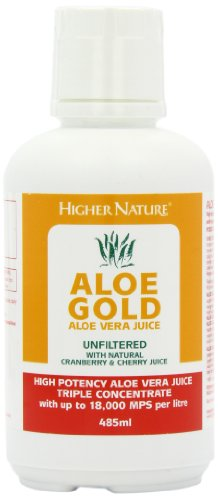 Higher Nature Aloe Gold Cherry/Cranberry 485ml ()
