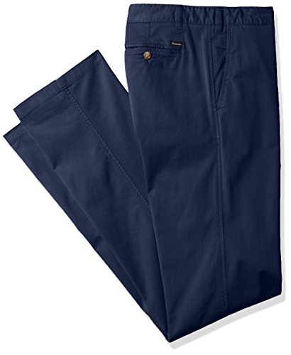 Façonnable Men's Faconnable Cadet Fit Garment Washed Chino, Navy Blue, 52