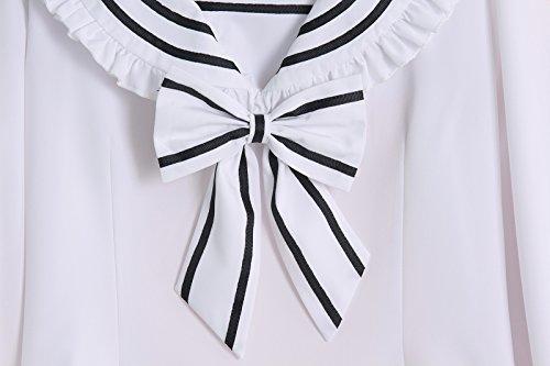 Nuoqi - Camiseta de manga larga - para mujer GC267A-NI