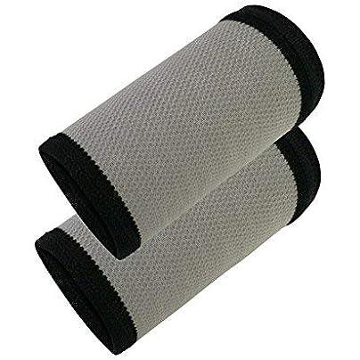 MOOUK Wrist Sweatband Sports Wristband Summer Thin Protective Wrist Wristband for Basketball Badminton Fitness Running Estimated Price £2.79 -