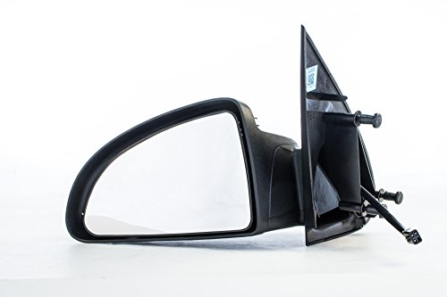 Driver Side Mirror for Chevy Cobalt Coupe (2005 2006 2007 2008 2009 2010) Left Black Non-Heated Folding Outside Rear View Replacement Door Mirror