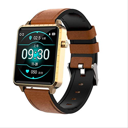 AMCE 1.54inch Full Touch Screen Smart Watch Men For Apple Watch Android Ios Heart Rate Blood Pressure Detection…