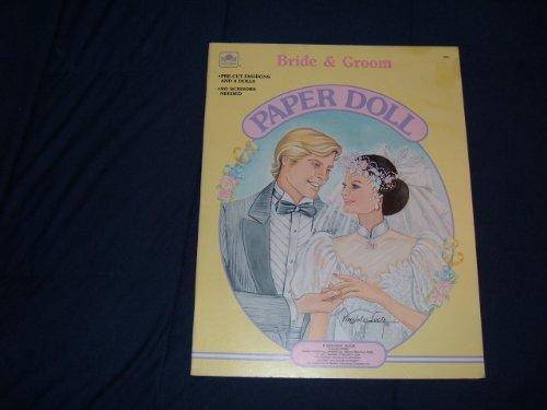 Bride & Groom Paper Doll