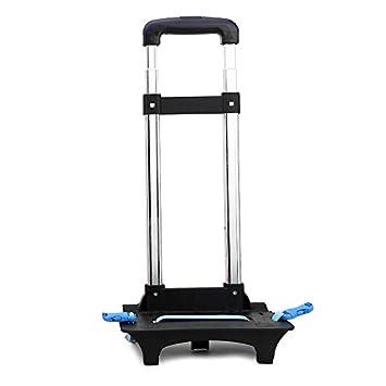 Vercart - Carrito con 6 ruedas para mochila, para estudiantes (color azul): Amazon.es: Equipaje