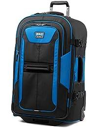Bold-Softside Expandable Rollaboard Upright Luggage, Blue/Black