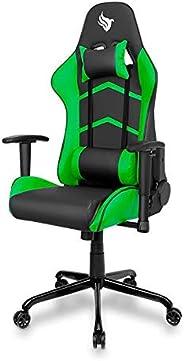 Cadeira Gamer Pichau Gaming Donek Verde com Almofadas