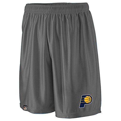 - NBA Indiana Pacers Men's B&T Poly Fleece Team Shorts, 4X, Charcoal