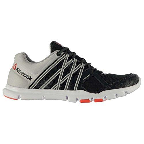 Zapatillas Re Train Yourflex Acero 0 Hombre para de Reebok 8 Running Grava BPIqB6