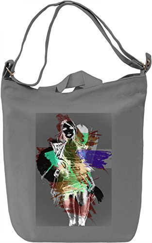 Fashion Borsa Giornaliera Canvas Canvas Day Bag| 100% Premium Cotton Canvas| DTG Printing|