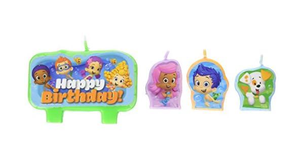 Amazon.com: Adorable de Bubble Guppies torta de cumpleaños ...