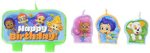 amscan Bubble Guppies Birthday Candle Set -