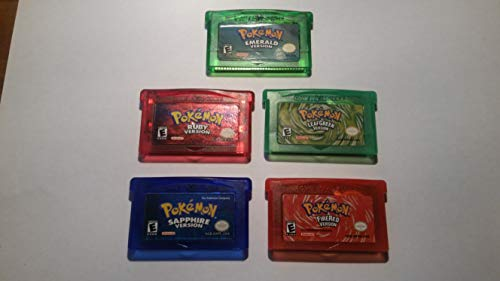 (Pokemon 5-Pack Game Boy Advance)