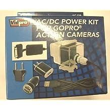 AC-GP AC Adapter Power Kit for GoPro HERO3+, GoPro HERO4, GoPro CHDHY-401, GoPro CHDHX-401, GoPro CHDBX-401