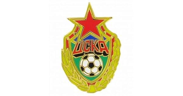 Amazon.com: CSKA Moscow Crest Pin Insignia: Sports & Outdoors