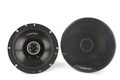 "Nakamichi SP-S1620 6.5"" 2-way Coaxial Car Speaker 300Watts Max Power"
