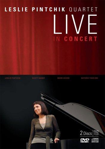 Leslie Pintchik Quartet Live In Concert (DVD+CD)