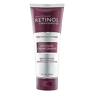 Amazon.com: Retinol Anti-Aging Cream Cleanser - Daily Deep..