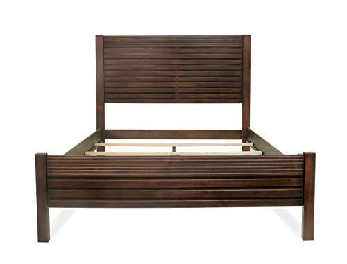Artefama Furniture Vienna Queen Bed, Cinnamon