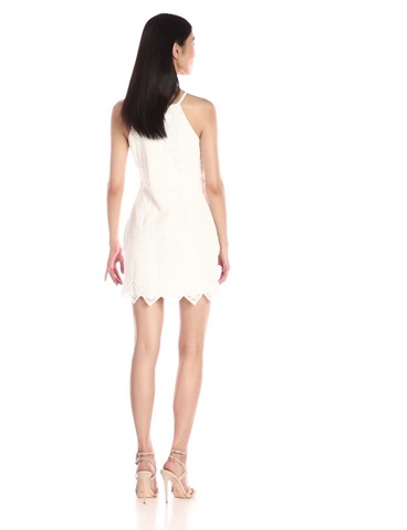 Greylin Womens Chelsi Fringe Dress